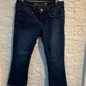 Seven 7 cropped jeans Sz 4